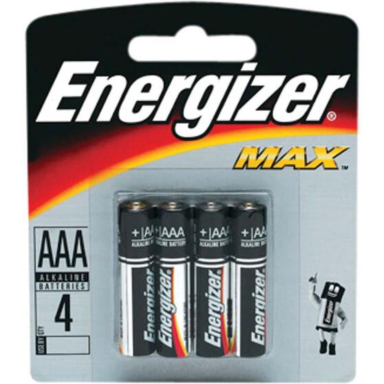 Energizer Max AAA Batteries - 4 Pack, , bcf_hi-res