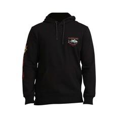 Quiksilver Waterman Men's Fleece Pullover Hoody Black S, Black, bcf_hi-res