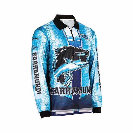 BCF Men's Barra Graphic Sublimated Polo Blue 2XL, Blue, bcf_hi-res