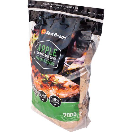 Heat Beads Smoking Apple Woodchips 900g, , bcf_hi-res