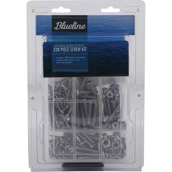 Blueline Screw Kit 328 Piece, , bcf_hi-res