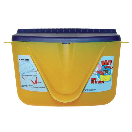 Surecatch Large Bait Bucket With Butt Rest, , bcf_hi-res