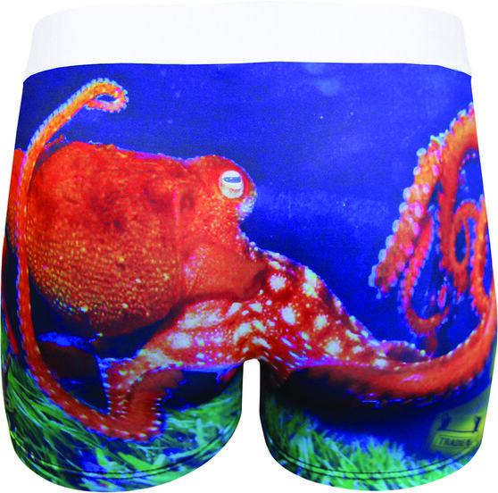 Tradie Men's Octopus Trunk, Print, bcf_hi-res