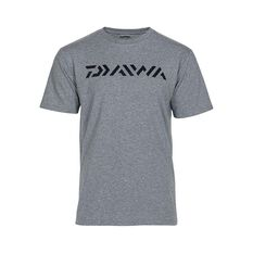 Daiwa Logo Men's T Shirt Grey Marle S, Grey Marle, bcf_hi-res