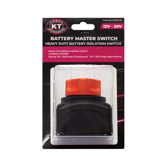 KT Cables Battery Master Switch 200A / 500A, , bcf_hi-res