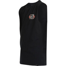 Quiksilver Youth Feeding Frenzy Muscle Tank, Black, bcf_hi-res