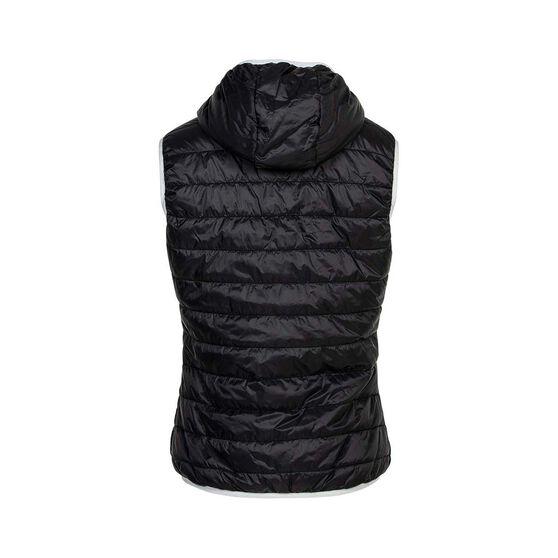 OUTRAK Reversible Puffer Vest - Womens 8, Black / Blue, bcf_hi-res