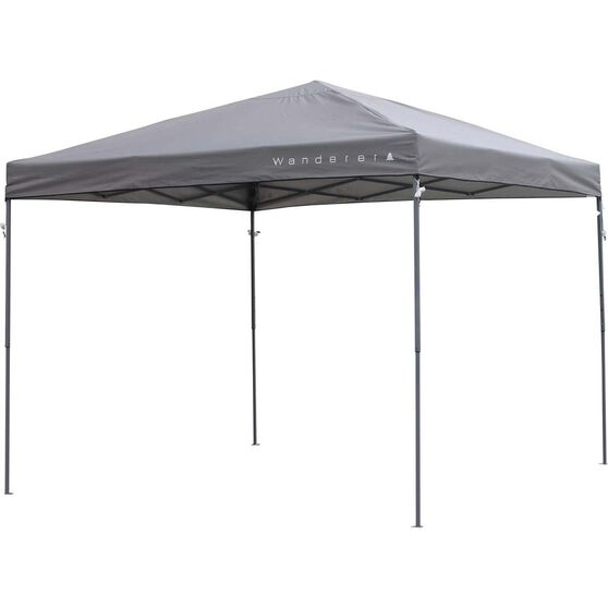 Wanderer Central Locking Gazebo 3x3m, , bcf_hi-res