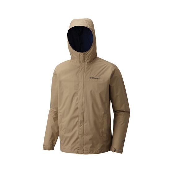 Columbia Men's Watertight II Jacket, British Tan / Carbon, bcf_hi-res