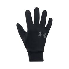 Under Armour Men's Armour Liner 2.0 Gloves Black / Graphite S, , bcf_hi-res