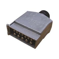 KT Cable Trailer Plug, Metal - Flat, 12 Pin, , bcf_hi-res