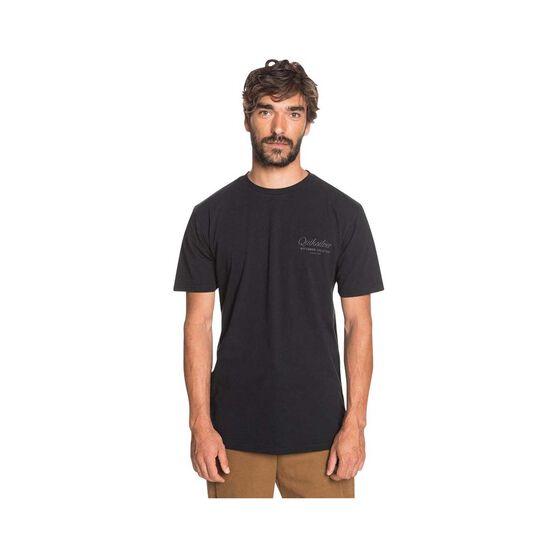 Quiksilver Waterman Men's Outer Reef Tee Black S, Black, bcf_hi-res