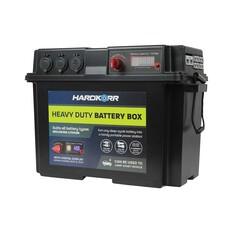 Hardkorr Heavy Duty Battery Box Black, Black, bcf_hi-res