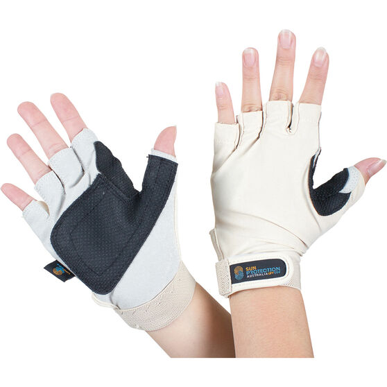 Sunprotection Australia Unisex Sports 50+ Gloves Skin XL, Skin, bcf_hi-res