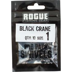 Rogue Black Crane Swivel 10 Pack, , bcf_hi-res