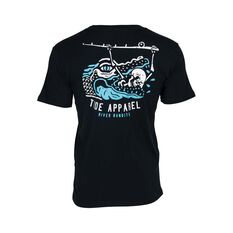 Tide Apparel Men's Bandit Tee Black S, Black, bcf_hi-res