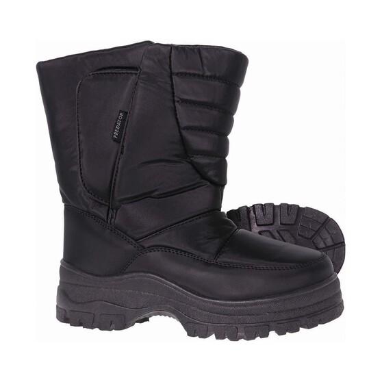 XTM Kids' Predator Snow Boots, Black, bcf_hi-res