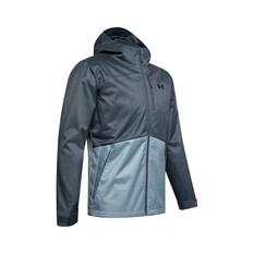 Under Armour Men's Porter 3-in-1 Jacket Wire / Wire / Black XL, Wire / Wire / Black, bcf_hi-res