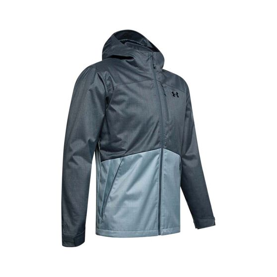 Under Armour Men's Porter 3-in-1 Jacket Wire / Wire / Black M, Wire / Wire / Black, bcf_hi-res