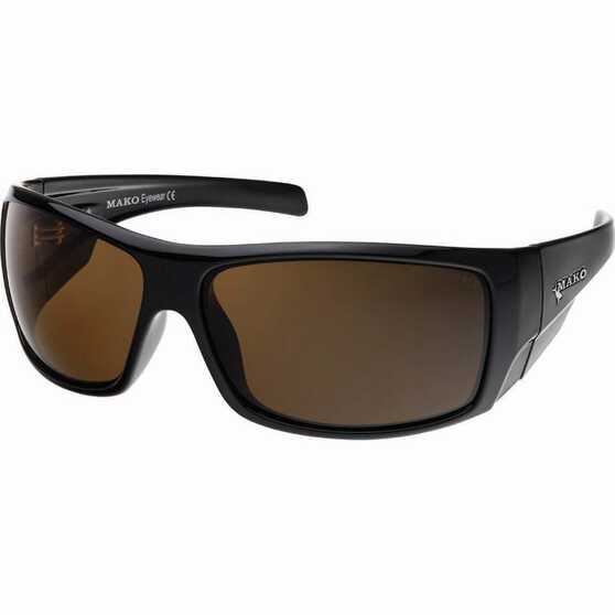 MAKO Indestructible Polarised Sunglasses Amber Lens, Amber Lens, bcf_hi-res