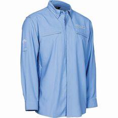 G.Loomis Men's Long Sleeve Fishing Shirt Blue S, Blue, bcf_hi-res
