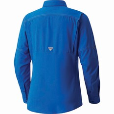 Columbia Women's Low Drag Offshore Long Sleeve Shirt, Blue Macaw, bcf_hi-res