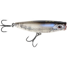 Pop Walker Surface Lure 8cm Dirty Silver, Dirty Silver, bcf_hi-res