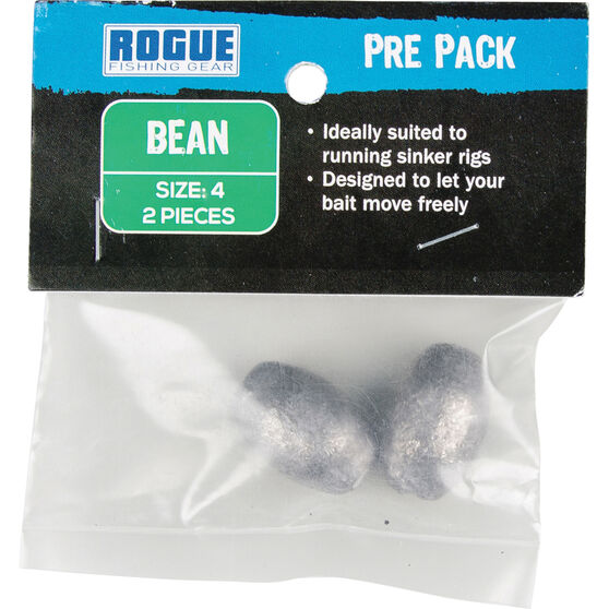 Rogue PP Bean Sinker Size 4 2 Pack, , bcf_hi-res