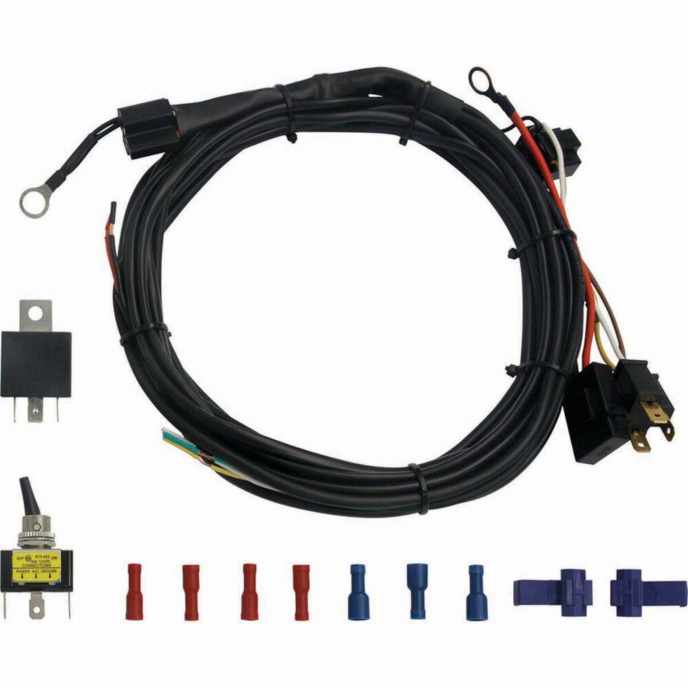 xtm led light bar wiring harness