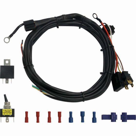 XTM LED Light Bar Wiring Harness A Light Wiring Harness on