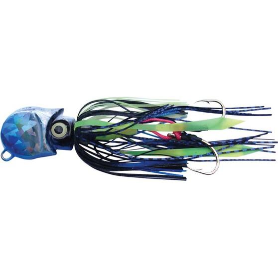Gillies Ockta Slow Jig Lure 80g Blue, Blue, bcf_hi-res