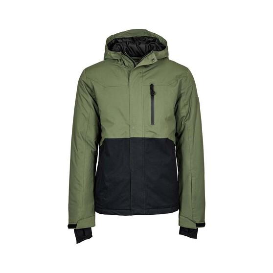 OUTRAK Men's Spun Snow Jacket Green / Black 2XL, Green / Black, bcf_hi-res