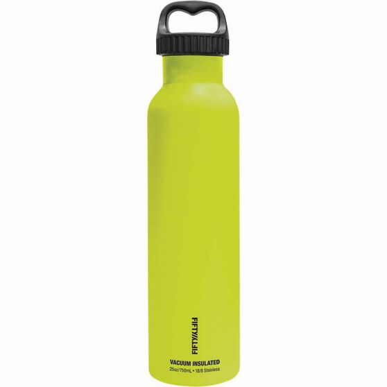 Fifty Fifty Insulated Drink Bottle 750ml Lime, Lime, bcf_hi-res