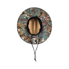 Quiksilver Waterman Men's Outsider Straw Hat, Camo, bcf_hi-res