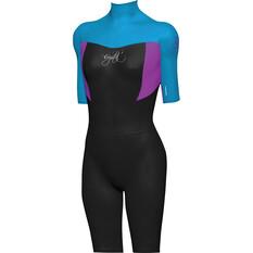 Mirage Kids' Superstretch Springsuit Wetsuit Blue 6, Blue, bcf_hi-res