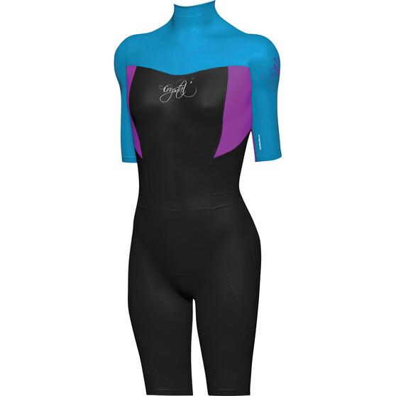 Mirage Kids' Superstretch Springsuit Wetsuit, Blue, bcf_hi-res