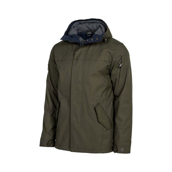 National Geographic Men's Explore Jacket, Khaki / Navy, bcf_hi-res