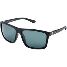 Spotters Grayson Men's Sunglasses Matt Black Black Lens, , bcf_hi-res