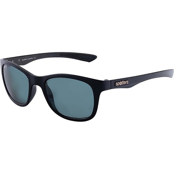 Spotters Jade Women's Sunglasses Shiny Black Carbon, , bcf_hi-res