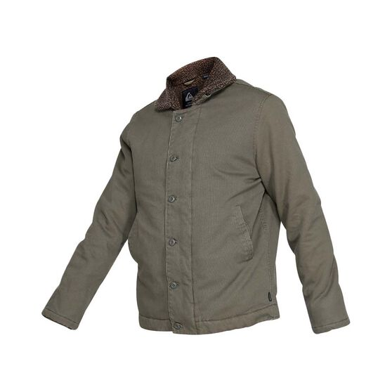Quiksilver Waterman Men's Stormy Weather Jacket, Dusty Olive, bcf_hi-res