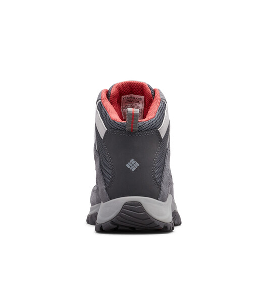 Columbia Women's Crestwood Mid Waterproof Hiking Boots, Graphite, bcf_hi-res