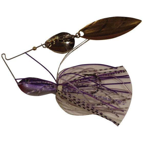 Tackle Tactics Vortex Spinner Bait Lure 3 / 4oz Purple Mauve, Purple Mauve, bcf_hi-res