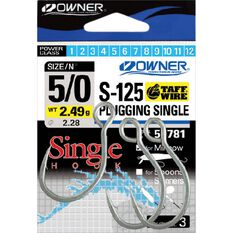 Owner Taff Plugging Single Hooks, , bcf_hi-res