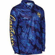 Men's Captain Fishing Shirt Navy S, Navy, bcf_hi-res