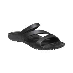 Crocs Kadee II Women's Sandals Black W6, Black, bcf_hi-res