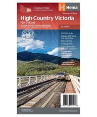 Hema High Country Vic - North East Map, , bcf_hi-res