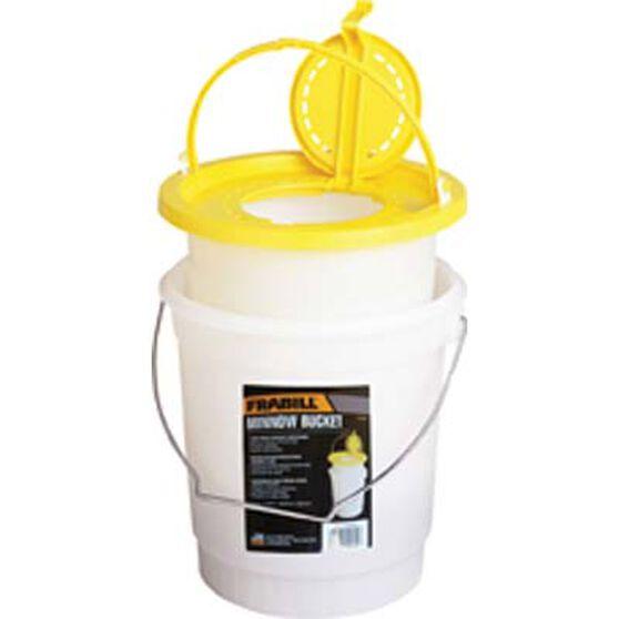 Frabill Bait Bucket With Inner Bucket, , bcf_hi-res