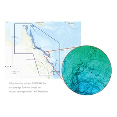 C-Map® Reveal: Tweed Heads to Weipa Chart, , bcf_hi-res