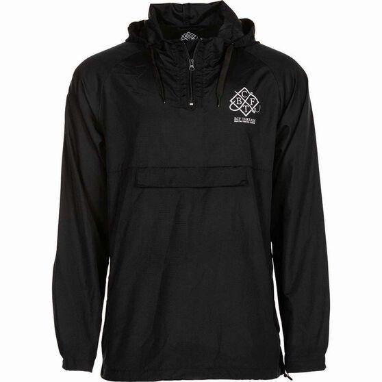 BCF THREADS Men's Classic Spray Jacket, Black, bcf_hi-res