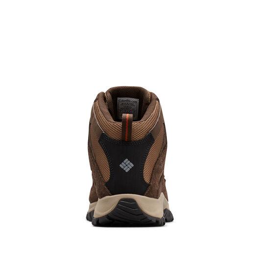 Columbia Men's Crestwood Mid Waterproof Hiking Boots, Dark Brown / Dark Adobe, bcf_hi-res